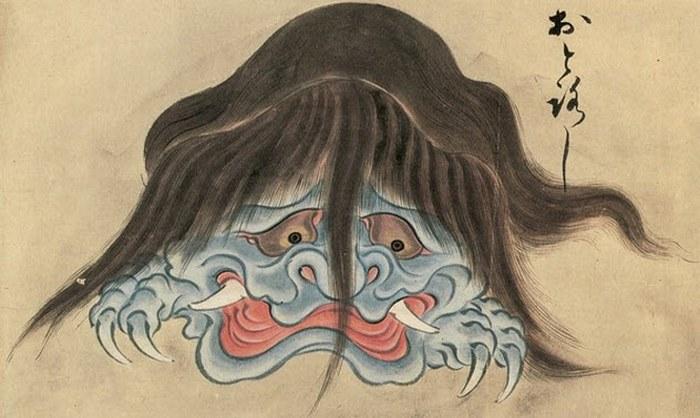 Самые страшные японские монстры.