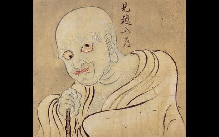 Ожидающий монах микоси-нюдо