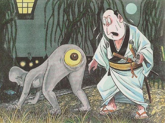 Самурай и глаз Shirime.