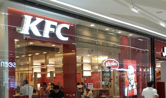 ����� � KFC ���������� �� ��������� �������.