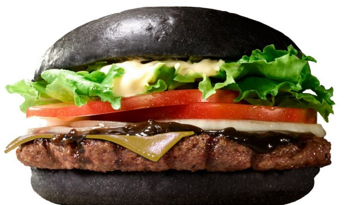 Меню Burger King.