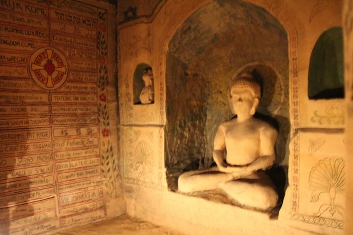 Пещеры Маастрихта: Будда.