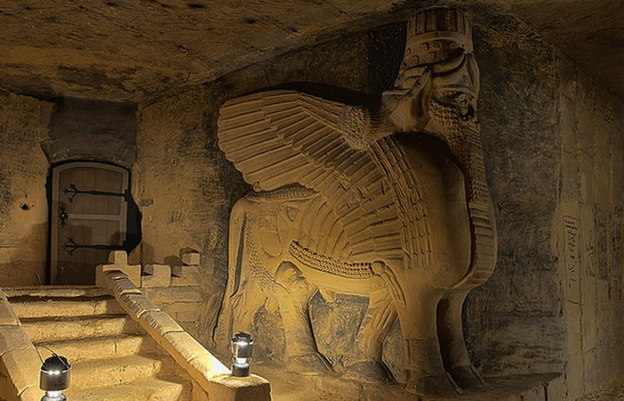 «Иезуитские пещеры», Маастрихт, Голландия.