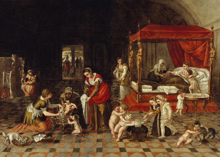 «Рождество Иоанна Крестителя». Ламберто Сустрис.