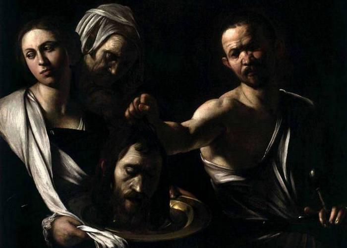 «Убийство Крестителя». Караваджо.
