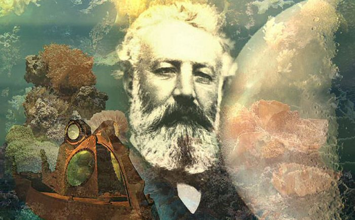 Подводная лодка - плод фантазии Жуля Верна.