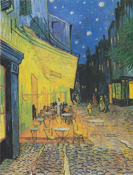 Винсент Ван Гог, «Ночная терраса кафе»
