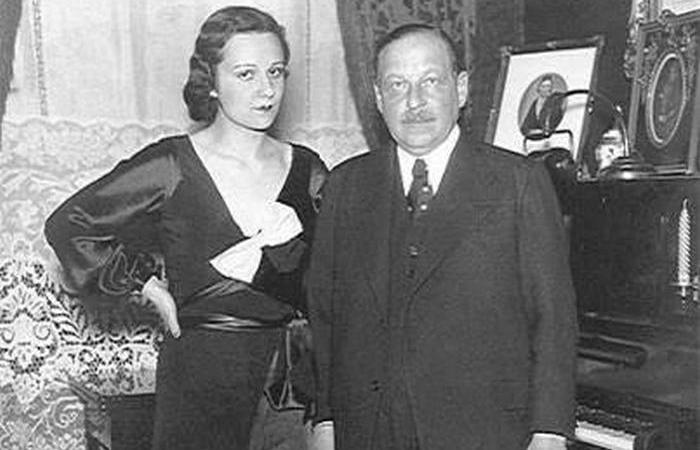 Имре Кальман и Вера Макинская.