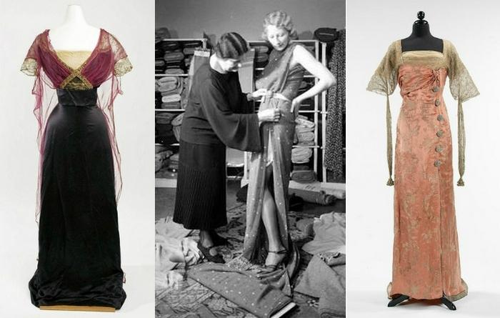 Французская элегантность - платья от Сестёр Калло.