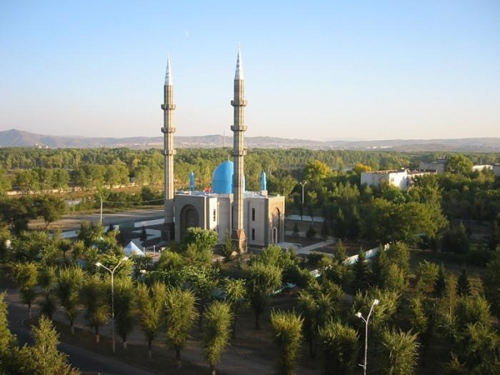Мечеть в Усть-Каменогорске.