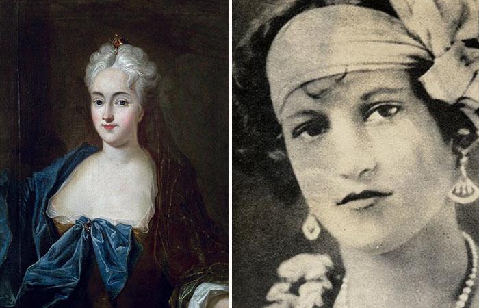 Анна Констанция фон Козель и Мария Элена Милагро де Ойос.