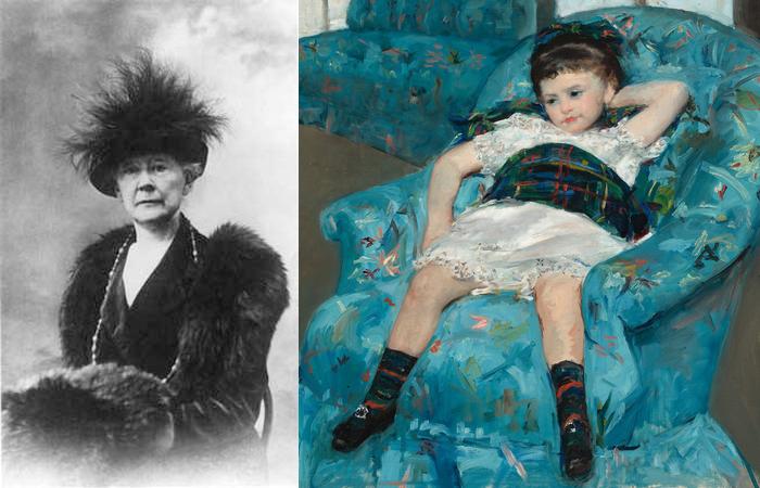 Мэри Кассат и её *Маленькая девочка в голубом кресле.*