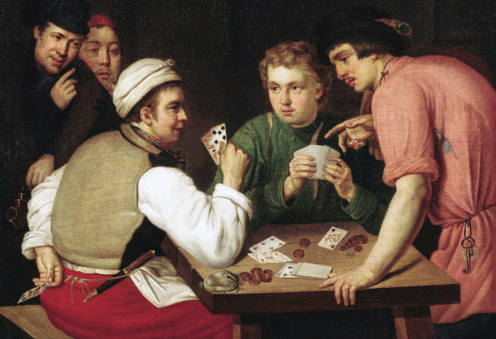Из истории игральных карт.