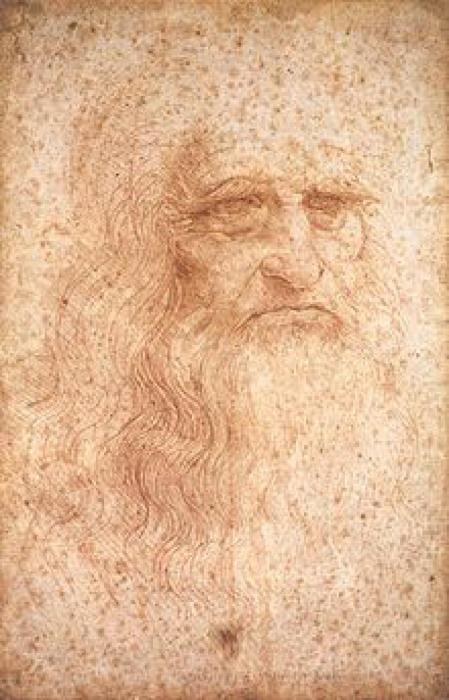 Автопортрет Леонардо Да Винчи.