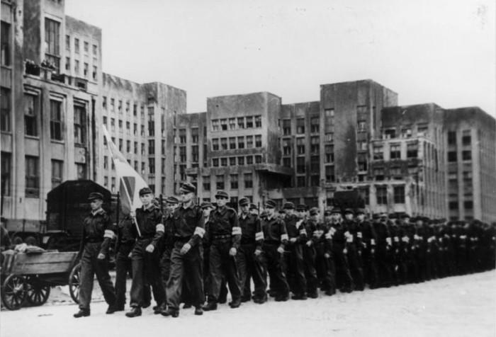 Белорусские легионеры.