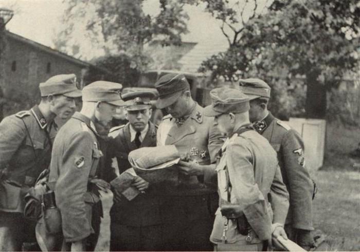 Эстонские легионеры в Германской армии.