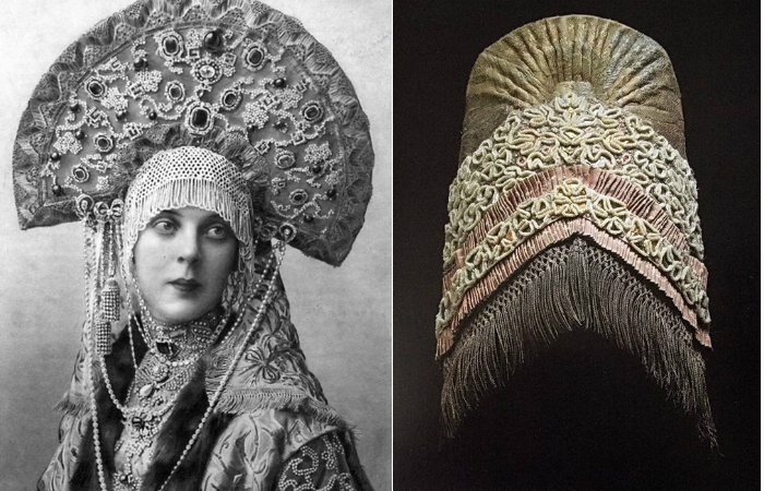 Кокошник - забытая корона русских красавиц.