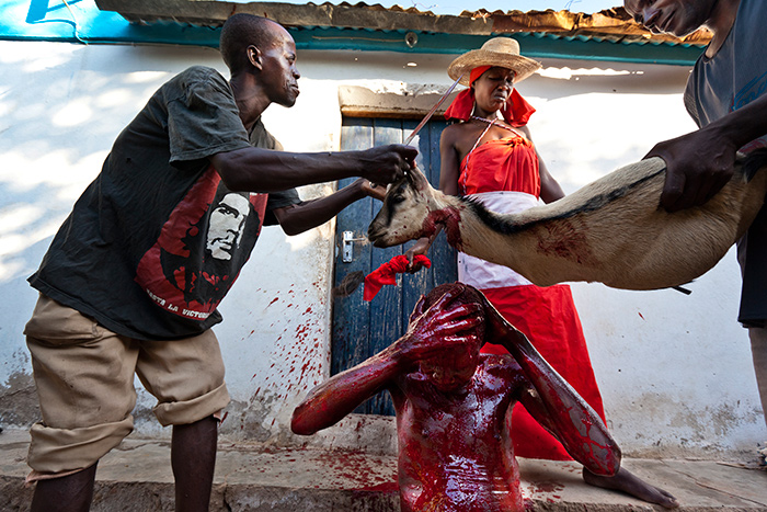 Козья кровь как лекарство от душевных расстройств.