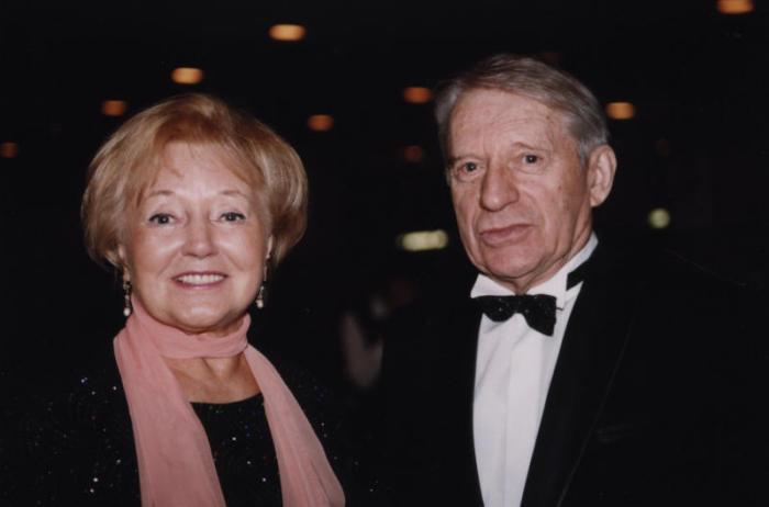 Людмила Касаткина и Сергей Колосов.