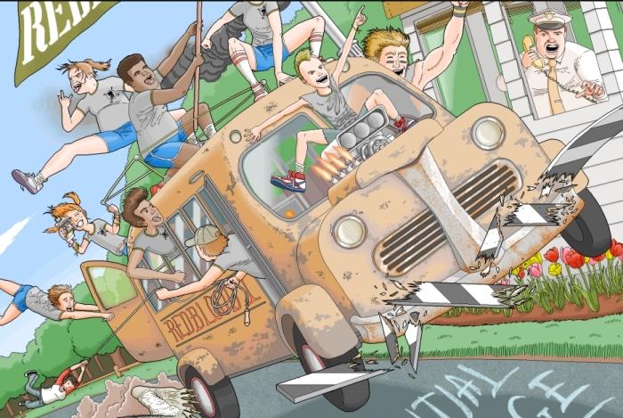 Писатель Пэт Хайнс потратил десять лет на создание в Paint иллюстраций к собственной книге