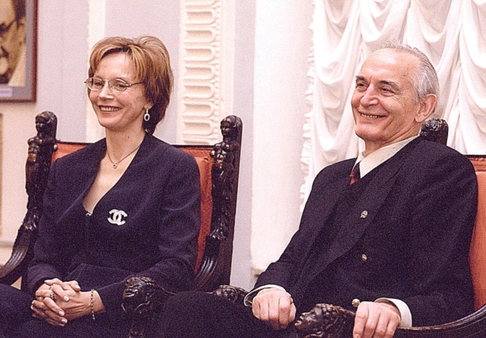 Василий Лановой и Ирина Купченко. / Фото: www.aunasinteresno.ru
