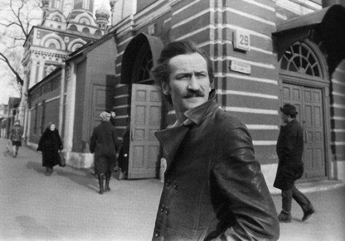 Леонид Филатов у Театра на Таганке.