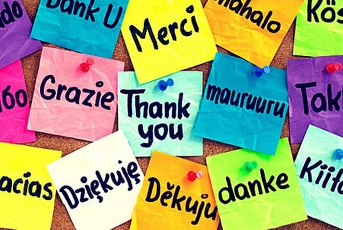 Чем больше иностранного языка, тем лучше.