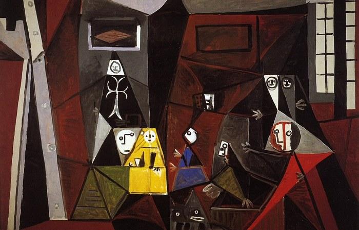Менины, подражание Пабло Пикассо.