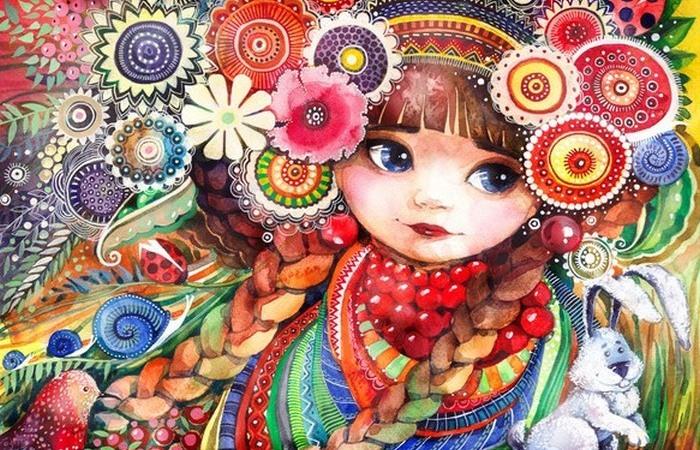 Волшебные иллюстрации Леси Недзельской.