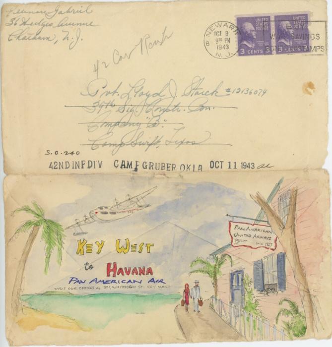 Любовные письма из далёкого прошлого.