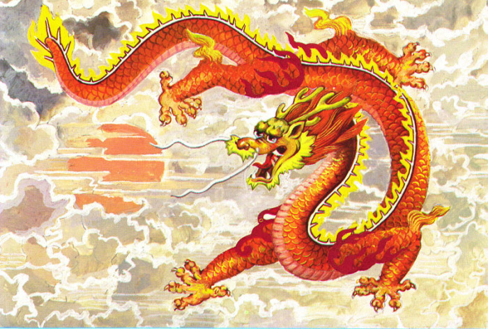 Китайский дракон.