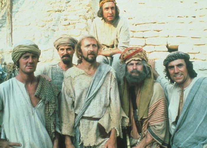 Пайтоны приняли сознательное решение не высмеивать Иисуса.