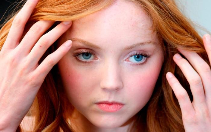 Лили Коул - «не то кукла, не то девочка». / Фото: OuchPress.com