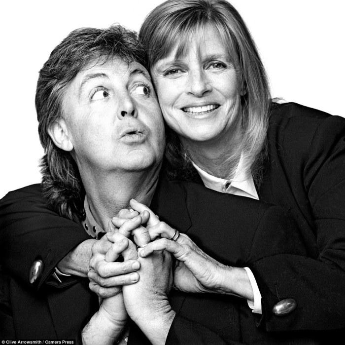 Пол и Линда Маккартни.