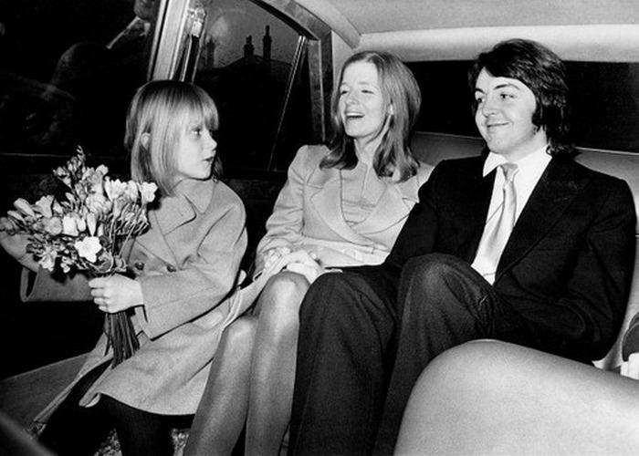 Свадьба Пола и Линды.