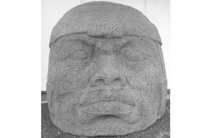 Памятник Q в Трес- Сапотес.