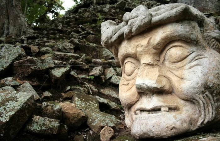 Загадки каменных голов ольмеков...