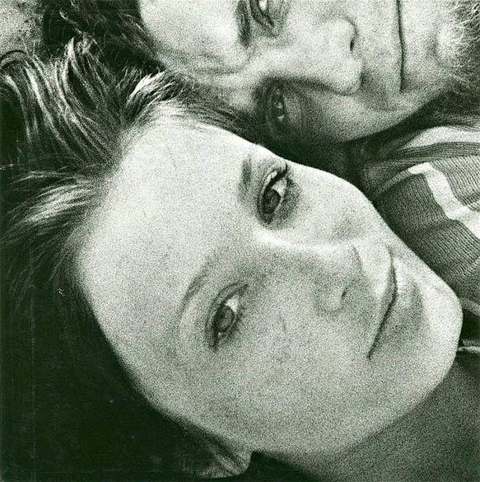 Витас Луцкус. Автопортрет с женой.