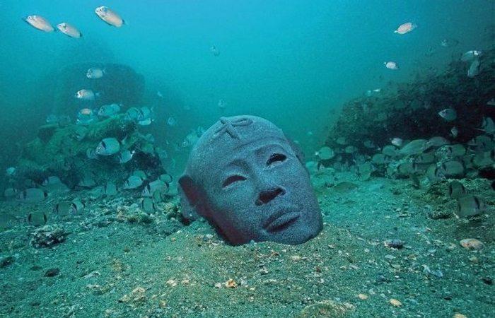 Затонувший египетский город.