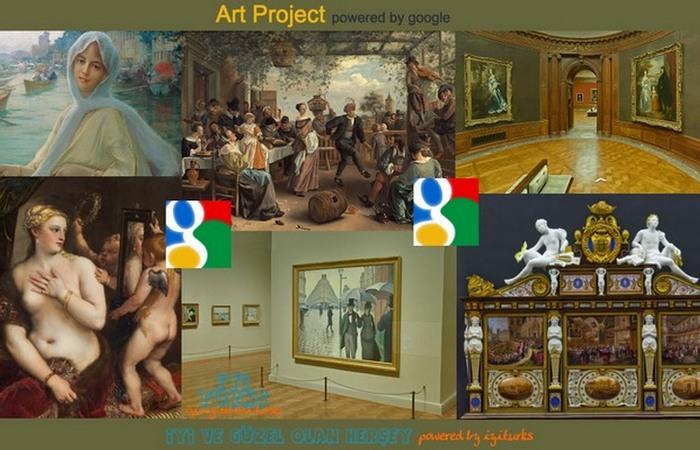 Возможно просматривать произведения искусства в высоком разрешении и детализации.