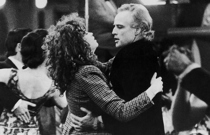 Трагичная любовь в фильме «Последнее танго в Париже»./фото: bbc.co.uk