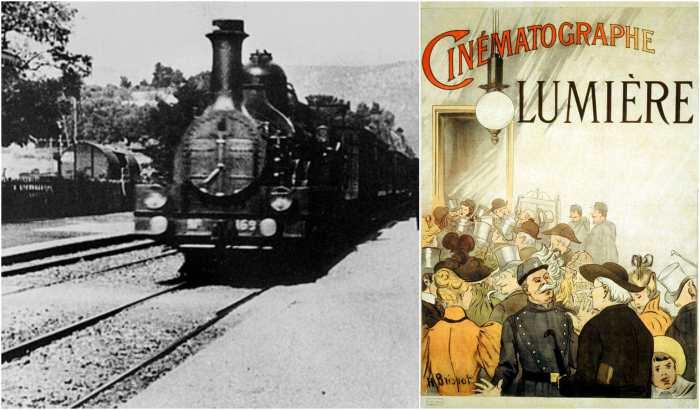 «Прибытие поезда на вокзал Ла-Сьота».