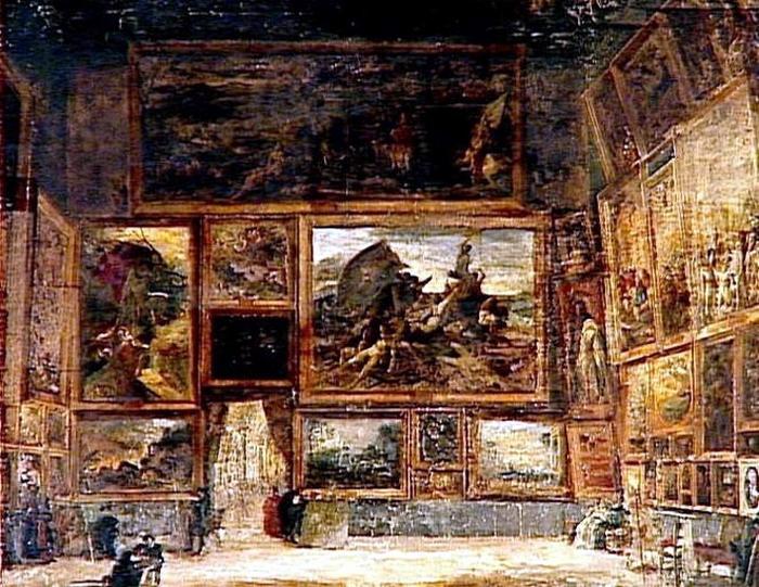 Nicolas Maillot. «Плот Медузы»  в Лувре. 1831