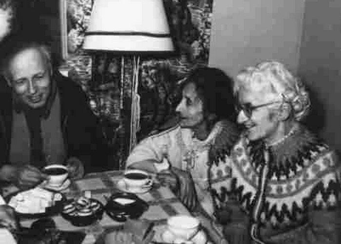Андрей Сахаров, Руфь Боннэр, Лидия Чуковская./фото: chukfamily.ru