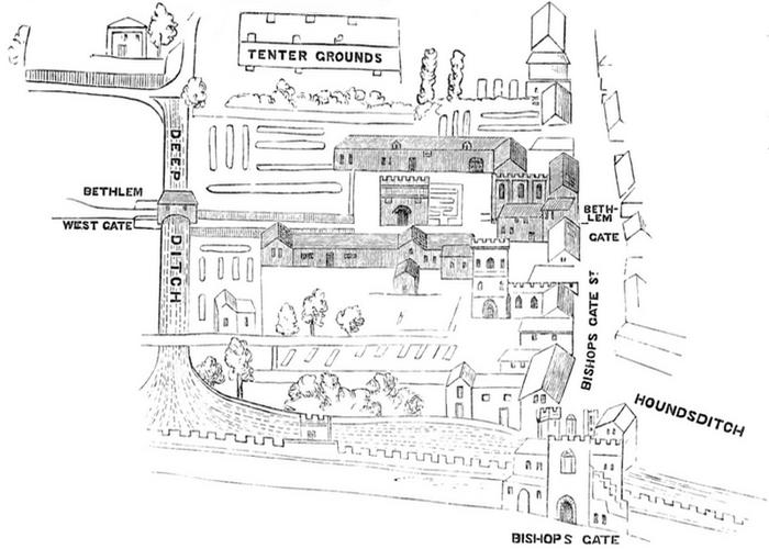 План первого Бетлема.