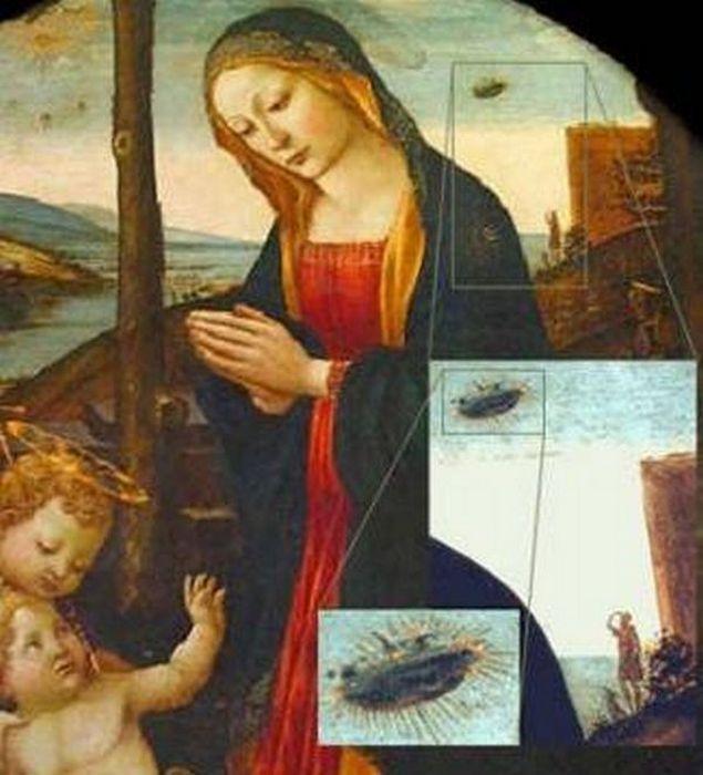 Мадонна со святым Джованнино.