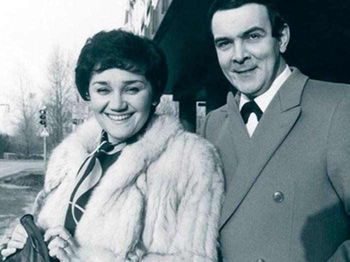 Муслим Магомаев и Тамара Синявская: 35 лет вместе.