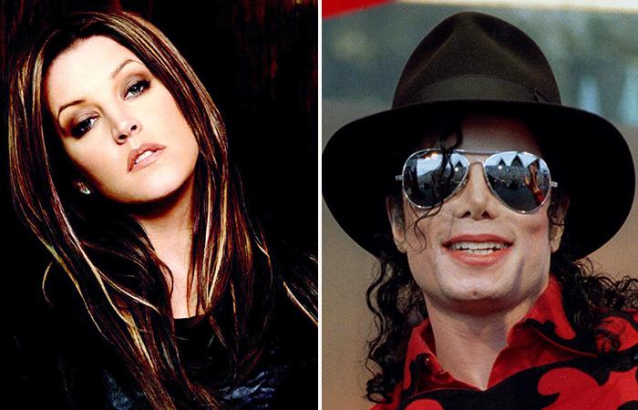 Майкл Джексон и Лиза Пресли.