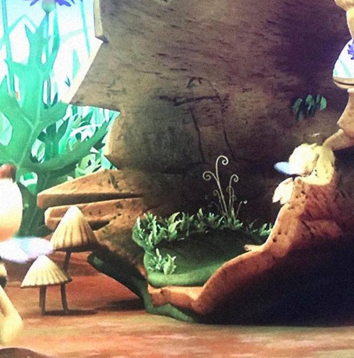 Скандальный кадр из детского мультфильма.
