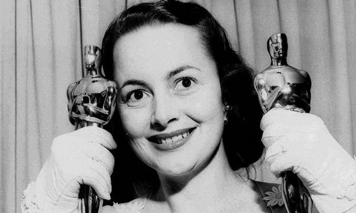 Оливия де Хэвилленд и её Оскары.